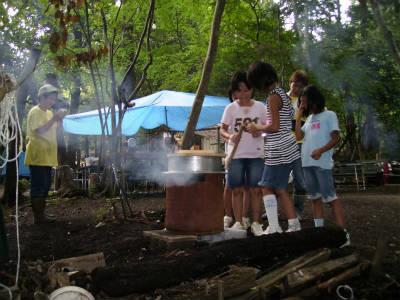 丹波ごちゃまぜ自然体験キャンプ 18