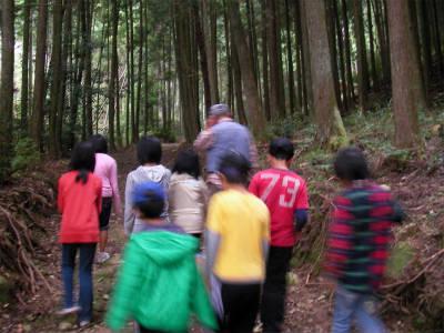 2010/10/23〜24丹波ごちゃまぜ自然体験〜秋〜2回目 81
