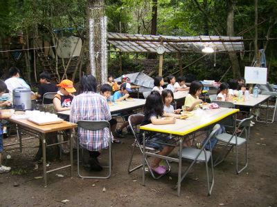2012/7/21ごちゃまぜ自然体験キャンプ