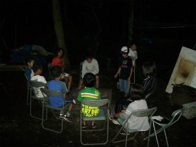 2012/7/21〜22ごちゃまぜ自然体験キャンプ