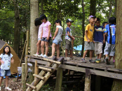丹波ごちゃまぜ自然体験キャンプ 45