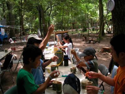 丹波ごちゃまぜ自然体験キャンプ 34
