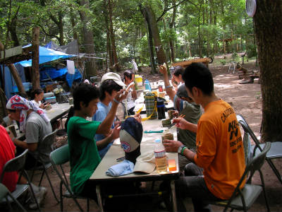 丹波ごちゃまぜ自然体験キャンプ 35