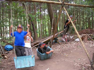 丹波ごちゃまぜ自然体験キャンプ 42