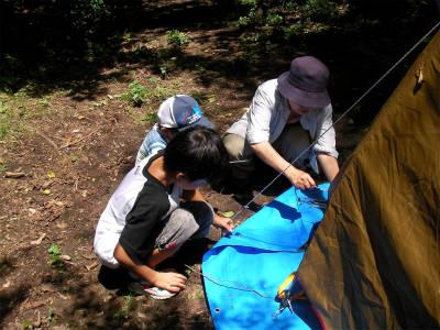 丹波ごちゃまぜ自然体験キャンプ 11