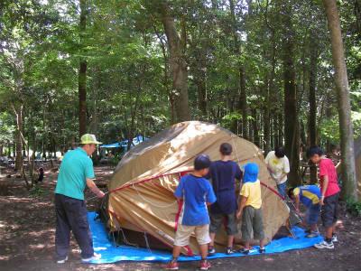 丹波ごちゃまぜ自然体験キャンプ 15