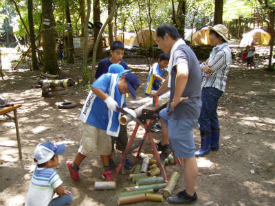 丹波ごちゃまぜ自然体験キャンプ 28