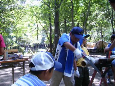 丹波ごちゃまぜ自然体験キャンプ 29